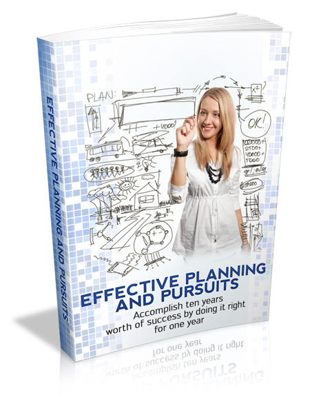 Effective Planning and Pursuits
